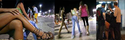 Brazil Prostitution Open Place: