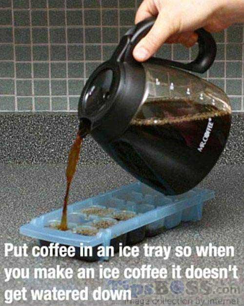 Home iced coffee