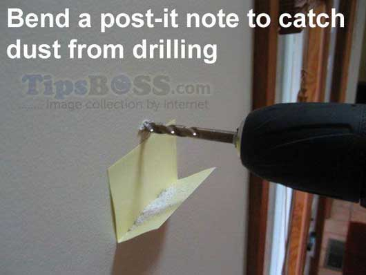 catch duct form drilling