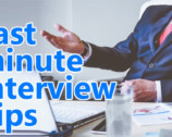 Last minute interview tips