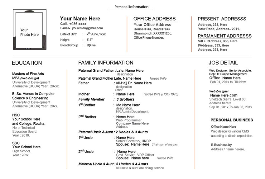 marriage bride cv biodata resume sample matrimonial resume sample download